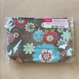 B2GOFREE 🍭Thirty one mini zipper pouch NIB